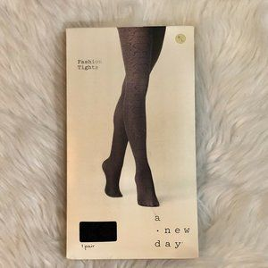 A New Day Fashion Tights Size M/L Snake Print NEW